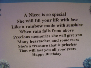 This Card For Our Niece New...