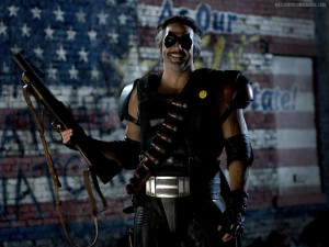 Watchmen Edward Blake The Comedian Jeffrey Dean Morgan