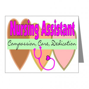 Nursing Assistant Note Cards (Pk of 10)