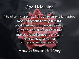 Good Morning Quotes for 09-05-2010