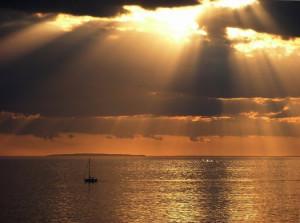 Inspiring sunset © Anette Rasmussen