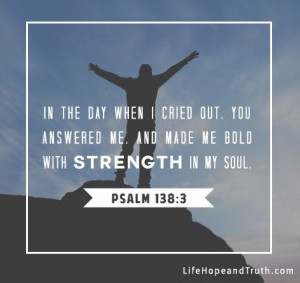 Encouraging Bible Verses About God's Strength