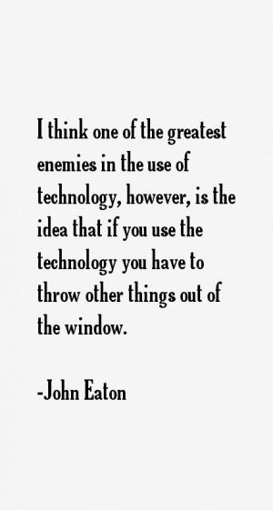 Return To All John Eaton Quotes
