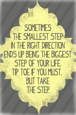 Any step forward is progress