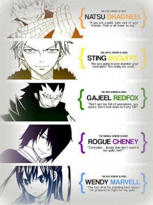 Fairy Tail Dragon Slayers