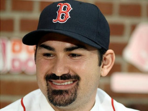 Star 1B Adrian Gonzalez, on his first day with Boston Red Sox, 'ready ...