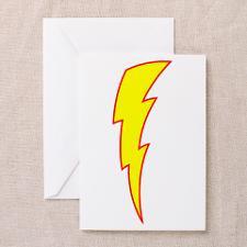 Lightning Bolt Greeting Cards (Pk of 10) for
