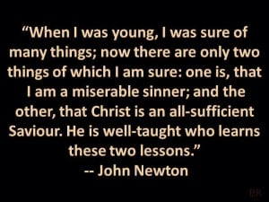 John Newton - He penned the song