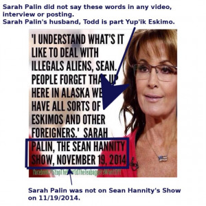 Fake Sarah Palin Quotes, Hannity Interviews That Never Happened