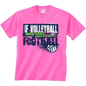 Volleyball Easy 0712 T Shirt