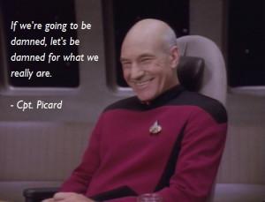 Star Trek Captain Picard Quotes