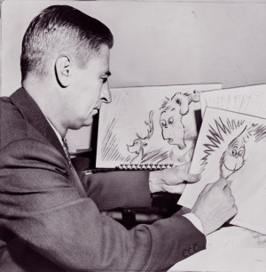 Theodor Seuss Geisel was an American writer, poet, and cartoonist most ...