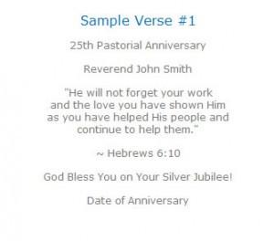 Jubilee Gift for Pastor–Crystal Pastor Jubilee Gifts