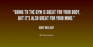 Quotes About Going to the Gym