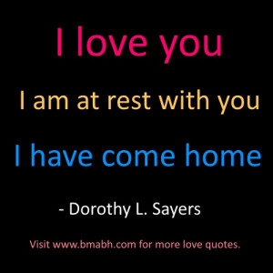 best i love you quotes and sayings for her and him image-I love you ...