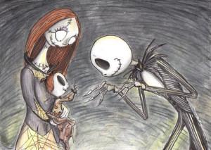 jack skellington #sally #sally ragdoll #the nightmare before ...