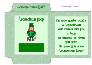 ... second one is for leprechaun seeds what do you think leprechaun poop