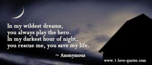 my hero..