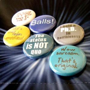 Dr Horrible Quotes - Dr Horrible's Sing-Along Blog Six Button Set. $6 ...