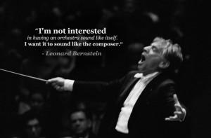 12 amazing Leonard Bernstein quotes