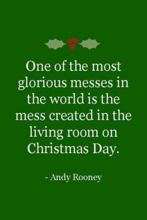 Christmas messes. Wonderful memories from each and every Christmas ...