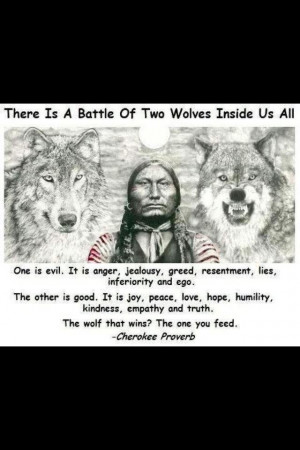 are you a good wolf or a bad wolf lol