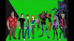 Ben 10 Alien Force characters by WerewolvesProtector