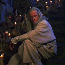 Christopher Lambert as Raiden in the 1995 film Mortal Kombat
