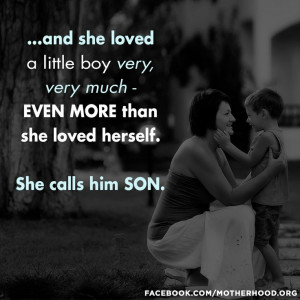 My son.
