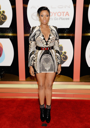 Jennifer Hudson - Arrivals at the Soul Train Awards