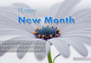 Happy New Month Quotes Messages