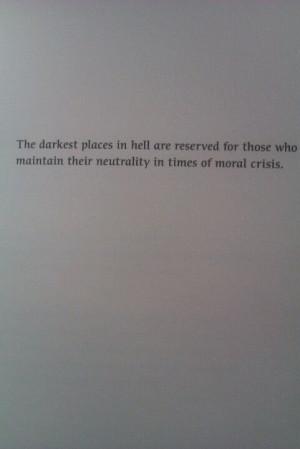 Neutrality quote