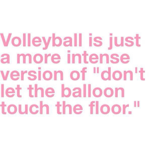 Learn from the volleyball team