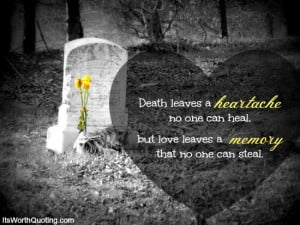 Death Quotes: A unique collection of Quotes About Death and Dying.