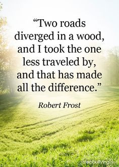 beyou #be yourself #quotes #Robert Frost #robert frost quotes ...