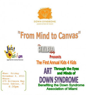 Benefit in Miami for Down Syndrome Kids