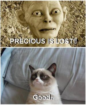 Gollum Precious Hates precious and gollum