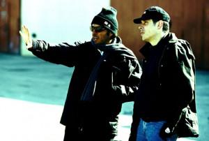 Still of Rodrigo Prieto and Alejandro González Iñárritu in 21 Grams ...