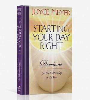 daily devotional joyce meyer daily devotional based on joyce meyers 1 ...