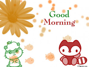 Have a Cute Morning