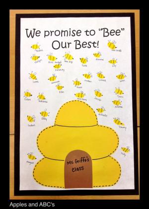 BEE-havior Contract with bee fingerprints!