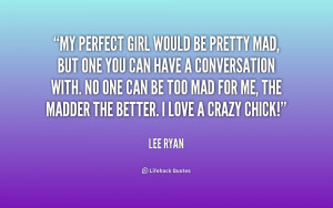 Perfect Girl Quotes
