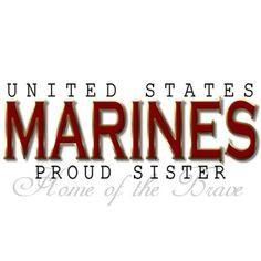 proud usmc sister more marines sisters semper fi semperfi usmc sisters ...