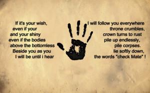 dark hands quotes sad darkness wish rust throne crowns Konan Dark ...
