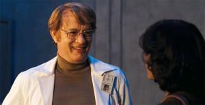 Tom Hanks stars as Dr. Henry Goose in Cloud Atlas (2012)