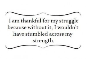 struggle=strength