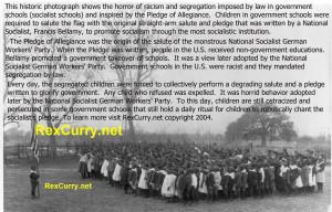 Pledge of Allegiance, Swastika Nazism exposed re Francis Bellamy ...
