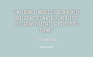 Funny Quotes About Middle School