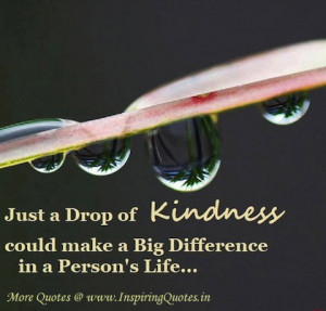 inspirational quotes on kindness