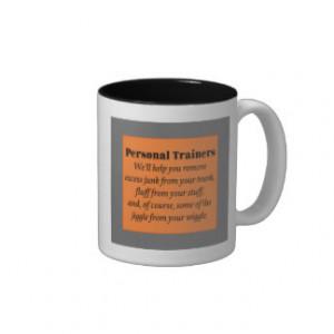 Personal Trainers Two-Tone Coffee Mug